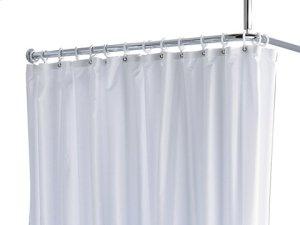 Shower curtain PLAN uni - white/8 eyelets Product Image