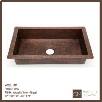 1610 Single Farmer Sink Product Image