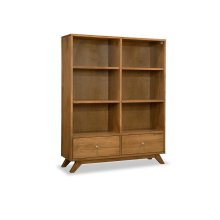 Tribeca Bookcase with 2 Drawers