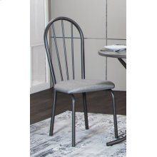 CR-D8719  Steel Gray Dining Chair  Set of 2