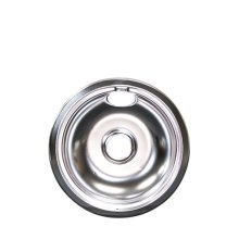 Smart Choice 8'' Chrome Drip Pan