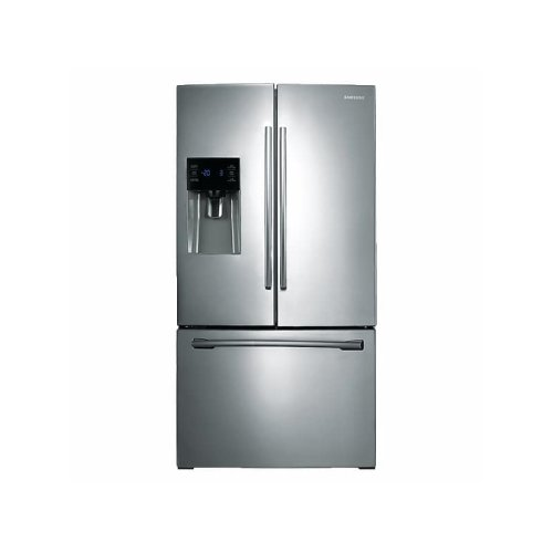 25 cu. ft. French Door Refrigerator with External Water & Ice Dispenser in Stainless Steel