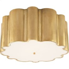 Visual Comfort AH4021NB-FG Alexa Hampton Markos 4 Light 26 inch Natural Brass Flush Mount Ceiling Light