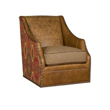 Heather Swivel Chair, Heather Ottoman