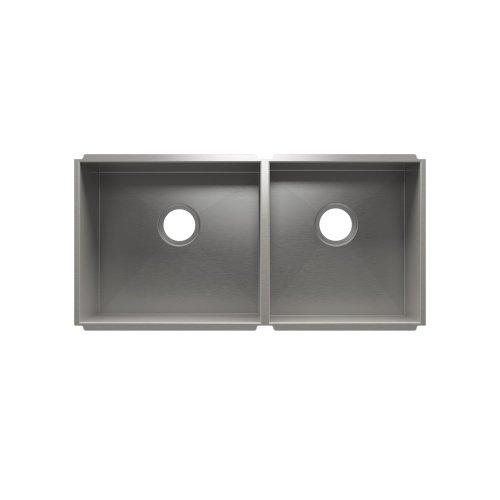 """UrbanEdge® 003679 - undermount stainless steel Kitchen sink , 18"""" × 16"""" × 8""""  15"""" × 16"""" × 8"""""""