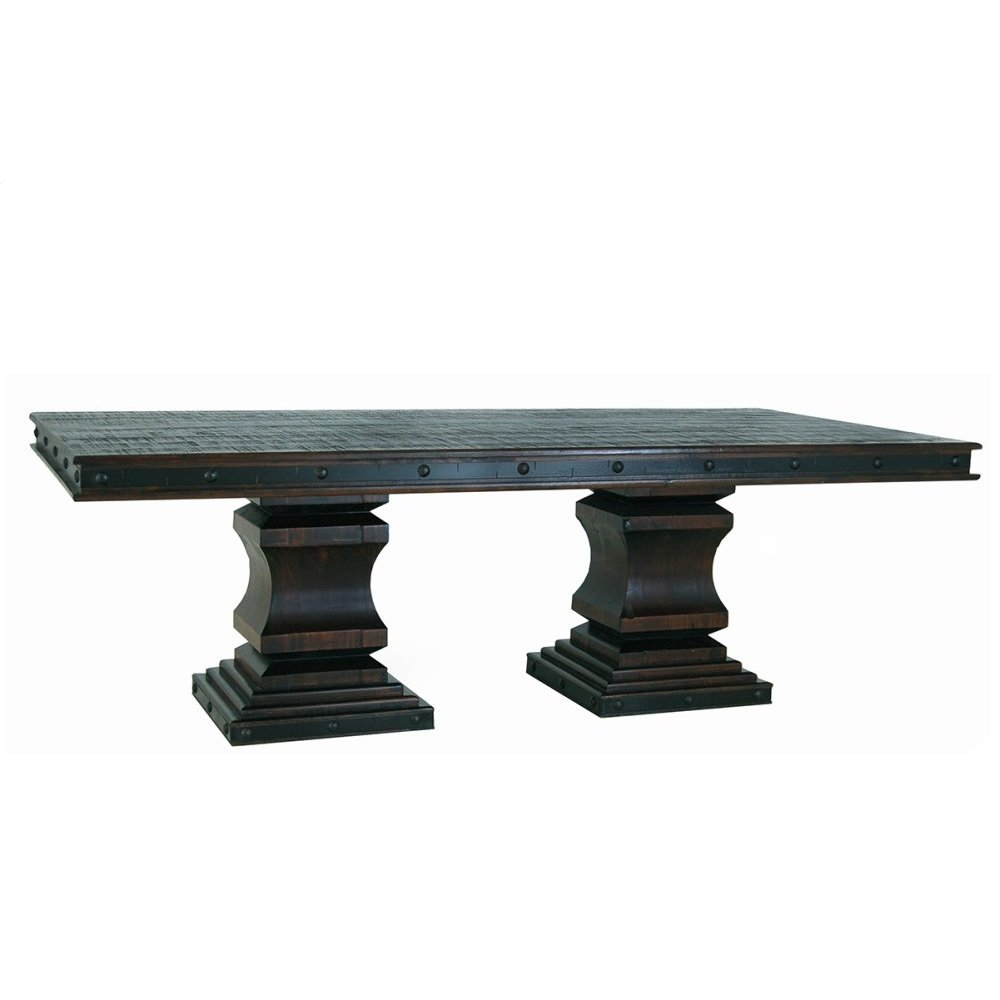 Gran Hacienda Double Pedestal Table