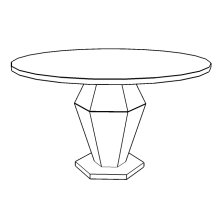 Hex Dining Table