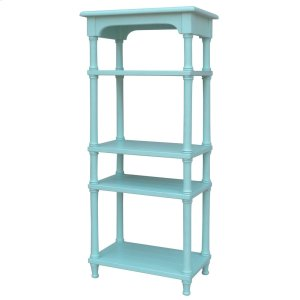 Island Display Shelf - Aqu