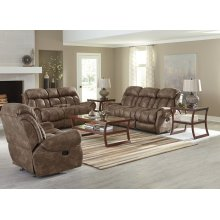 Reclining Loveseat W/console