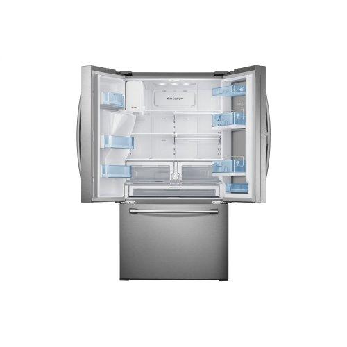 RF28HDEDBSR French Door Refrigerator with Food Showcase, 28 cu.ft
