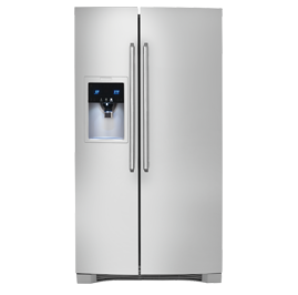 Scratch and Dent -- - -- -Counter-Depth Side-By-Side Refrigerator with Wave-Touch® Controls
