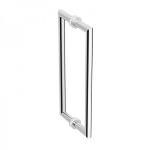 """Simpliciti 8"""" Back To Back Glass Door Handle Kit Product Image"""