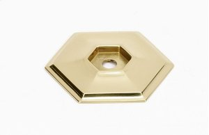 Nicole Backplate A426 - Unlacquered Brass Product Image