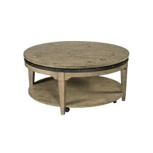 Artisans Round Cocktail Table