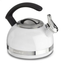 1.9 L Kettle with C Handle and Trim Band - White