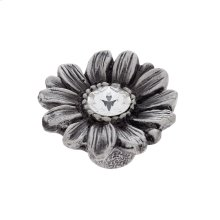 Pewter 36 mm Daisy Knob