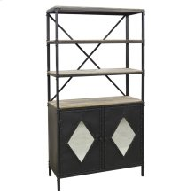 Fallon Cabinet and Bookcase