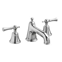 Randall Widespread Bathroom Faucet with Lever Handles - Polished Chrome