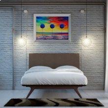 Tracy 2 Piece Queen Bedroom Set in Cappuccino Brown