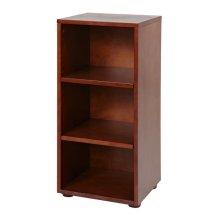 Low Narrow Bookcase : Chestnut