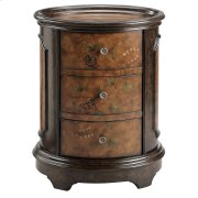 Autumn 3-drawer Chest With Tray-style Top Product Image