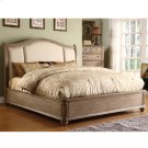 Coventry - Full/queen Sleigh Upholstered Headboard - Weathered Driftwood Finish Product Image