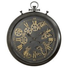 Pocket Watch Gear Clock