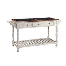 Northrup Kitchen Island In Antique Milk