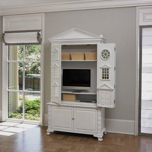 Row House Cabinet - Blanc de Blanc
