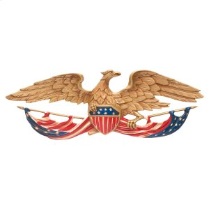 "24"" Patriotic Wall Eagle Product Image"