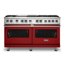"60"" Dual Fuel Range, Natural Gas"