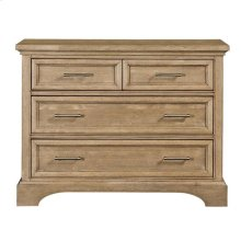 Chelsea Square French Toast Single Dresser