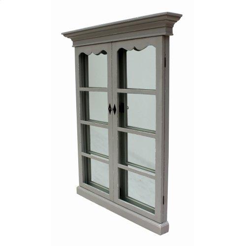 Adriana French Window Mirror