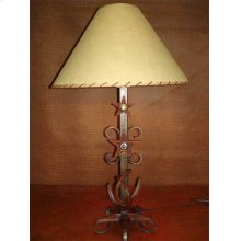 Metal Lamp With Spurs