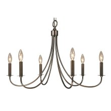6-Light Maisonette Dining Chandelier