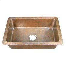 Rhodes Single Bowl Kitchen Drop-In