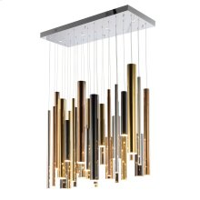 Flute LED 31-Light Pendant