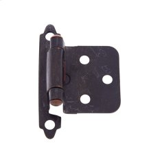 Oil Rubbed Bronze Flush Self-Closing Hinge