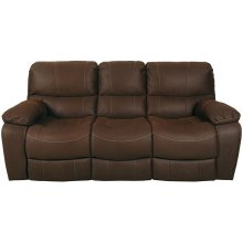 Ramsey Rodeo Brown Leather-Look Sleeper Sofa, M6016S