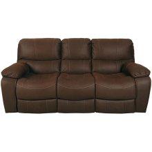 Ramsey Rodeo Brown Leather-Look Sleeper Sofa, M6016S