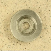 Echo Backplate in Brushed Natural Pewter