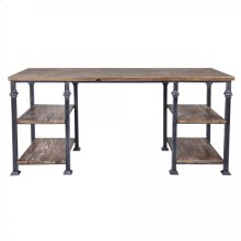 Armen Living Liam Industrial Desk