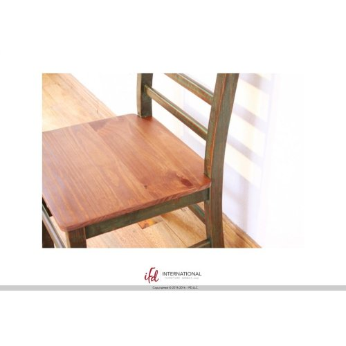 64in Dining Table Multicolor Finish - KD System
