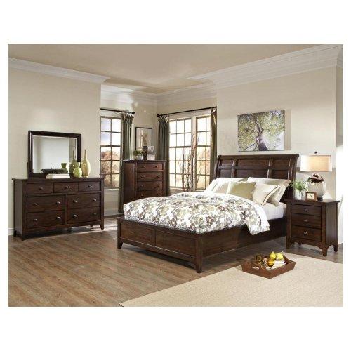 Intercon Bedroom Jackson Sleigh Queen Bed-Standard FB