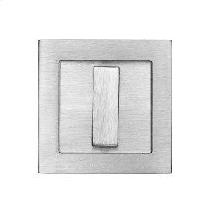 Square flush pull 65x65 with turn snib, Antique Brass Dark Product Image