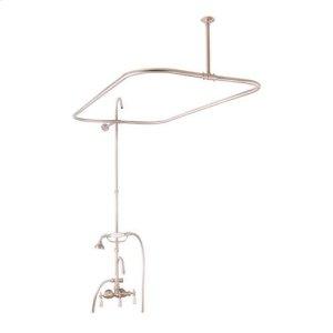 """Tub/Shower Converto Unit - 48"""" Rod for Acrylic Tub - Brushed Nickel Product Image"""