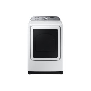 7.4 cu. ft. Electric Dryer with Steam Sanitize+ in White Product Image