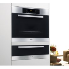 "70cm (27"") ESW 4726 Europa Black Glass & Clean Touch Steel Warming Drawer - ESW 4726 Warming Drawer Europa"