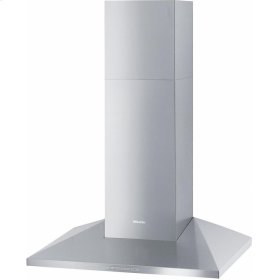 DA 398-7 Classic 30-inch wall-mounted ventilation hood with energy-efficient LED lighting and backlit controls for easy use.