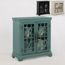 Francesca Accent Cabinet Black